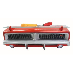 1969 Dodge Charger R/T Wall Shelf - Orange Front End