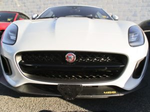 Removable, No Drill License Plate Bracket for 2018-2020 Jaguar F-Type