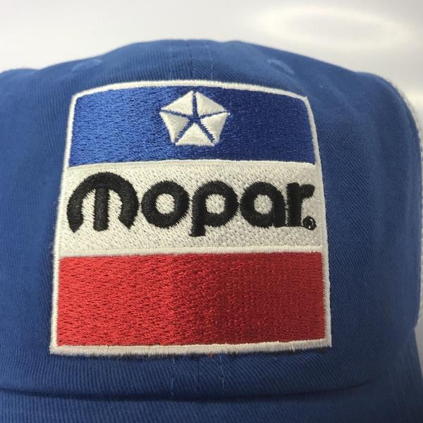 Mopar Hat - Blue 1972 Logo Trucker