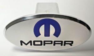 Mopar Hitch Cover - Polished Aluminum