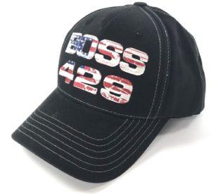 Ford Mustang Hat - Boss 429 American Flag Script
