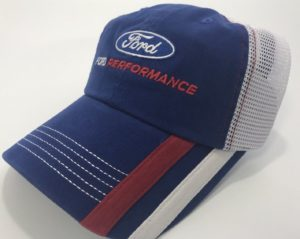 Ford Performance Hat - Blue with White Mesh Backing