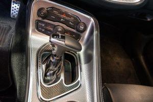 Shift Plate Cover for 2015-2018 Dodge Challenger - Carbon Fiber