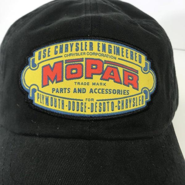 Mopar Hat - Black with 1937 Logo