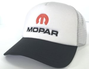 Mopar Hat - White Padded Trucker