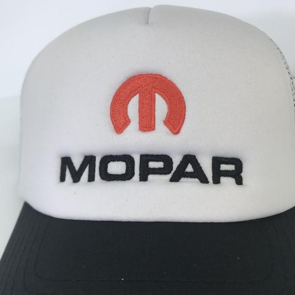 Mopar Hat - White Padded Trucker
