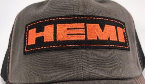 Dodge Hemi Hat - Grey with Black Mesh