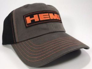 Dodge Hemi Hat - Grey with Black Mesh
