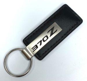 Nissan 370Z Leather Keychain