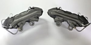 Pair of 1967 Ford Mustang Brake Calipers Loaded With Pads - Kelsey Hayes Style