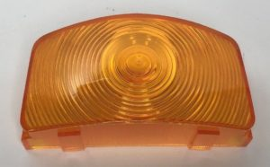 Parking Light Lens for 1955-1956 Ford F-100, F-250, and F-350 - Amber