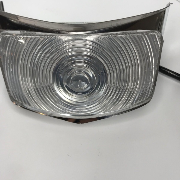 Parking Light Assemblies For 1955 Ford F100, F250 & F350 Pickup Truck - Clear Lens