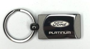 Ford Platinum Keychain