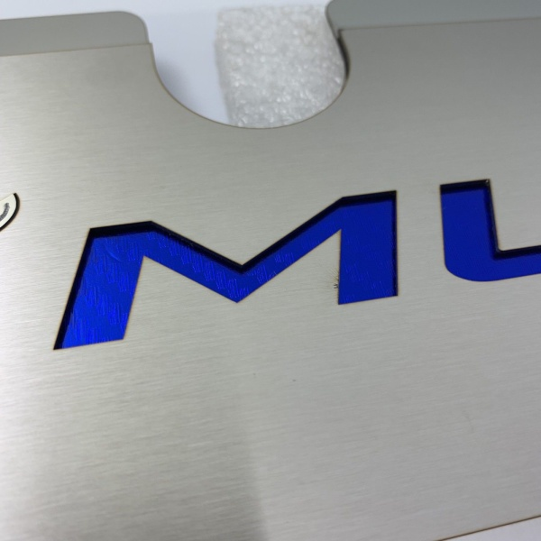 2015-2017 Mustang GT Radiator Cover Plate - Blue Pony Emblem
