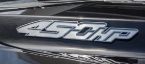 Ford Raptor Decals - 2017-2018 450 HP Brushed Stainless Steel