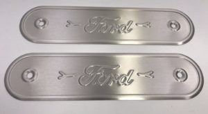 1928-1931 Ford Model A Sill Plates - Stamped Aluminum