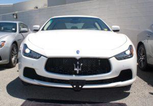 Removable License Plate Bracket for 2014-2017 Maserati Ghibli