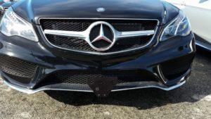 Removable License Plate Bracket for 2016 Mercedes E400 Sport