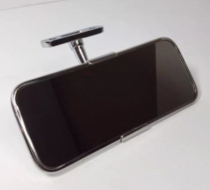 Universal Interior Rearview Mirror - Stainless Steel