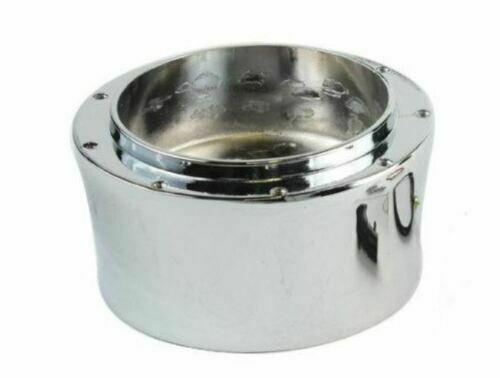 Polished 9 Hole Steering Wheel Hub Adapter For Flaming River Ididit GM Chevy