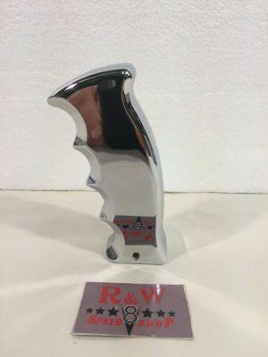 Pistol Grip Shift Knob - Chrome