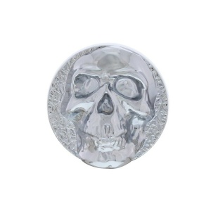 Skull Dash Knob - Chrome Die Cast