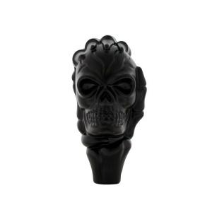 Shift Knob - Black Metal Skull