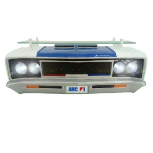 1970 AMC Rebel Machine Wall Shelf w/ Working LED Headlights