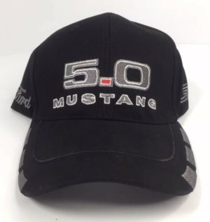 Ford Mustang Hat - Black w/ Gray 5.0 GT