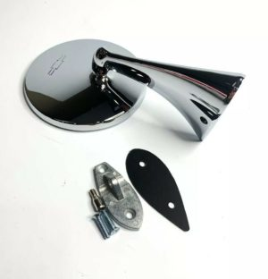 Exterior Rearview Bowtie Mirror For 1963-1967 Chevy Corvette