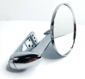Chrome Exterior Rearview Side Mirror For 1953-1966 Ford Pickup Trucks