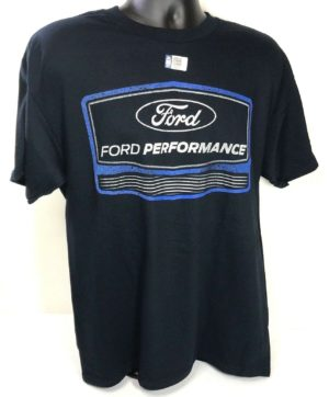 Ford Performance T Shirt - Navy Blue with Logo