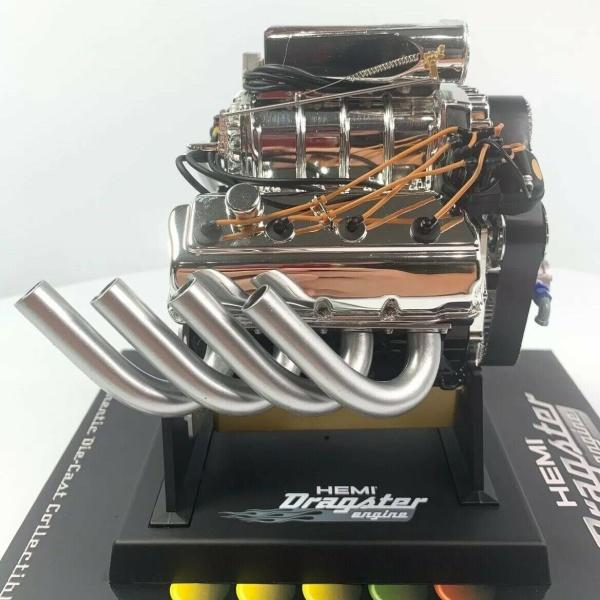 Dodge HEMI Top Fuel Dragster Model Engine - Diecast 1:6 Scale Replica