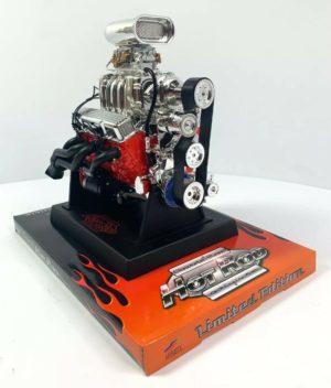 Chevy Small Block 350 V8 Diecast 1:6 Scale Replica Model Engine