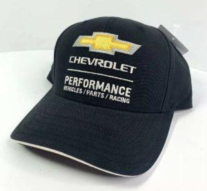 Chevrolet Performance Vehicles Parts Racing Hat - Black