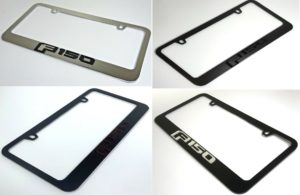 Ford F-150 License Plate Frame - Choose Style