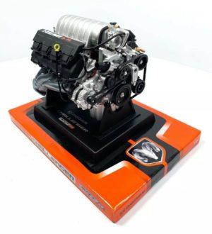Dodge Challenger SRT8 HEMI 6.1L Model Engine - Diecast 1:6 Scale Motor Replica