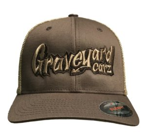 Graveyard Carz Hat - Flex Fit w/ Faux Mesh Back
