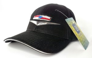 Chevy Tri-Five Bel Air Hat - Black w/ Liquid Metal Emblem