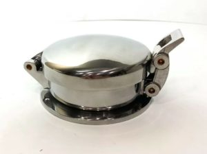 "Polished Aluminum Shelby Cobra Roller Style Gas Cap - 3 1/2"" Filler Neck"