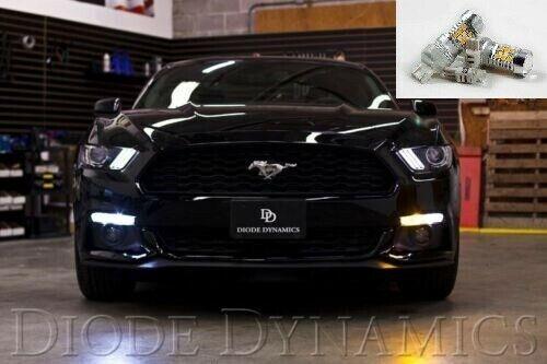 LED Switchback Turn Signal Side Marker Light Bulbs For 2015-2017 Ford Mustang