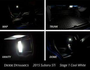 Bright White Interior LED Light Bulbs Kit For 2015- 2019 Subaru WRX & STI