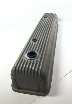 Finned Aluminum Tall Valve Cover for Chevy 216 & 235 - Unpolished Show Quality