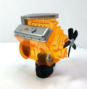Chevy Night Light - Orange Corvette Big Block 427 Engine Replica