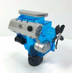 Ford Night Light - Blue w/ Gray & Black 427 SOHC Cammer Engine Replica