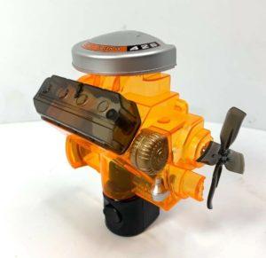 Dodge Night Light - Orange Chrysler Hemi 426 Engine Replica Plug In