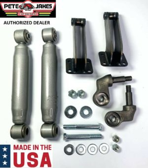 Painted Bolt-On Front Shock Kit For 1928-1931 Model A & 1932 Ford - Made In USA