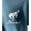 "Ford Bronco T-Shirt ""Hit the Off Road"" Scene w/ Script Emblem - Midnight Blue"