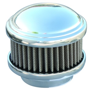 Polished Dome 2 Barrel Air Cleaner - Show Quality Aluminum 94 97 & 98 Carbs