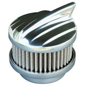 Polished Aero 2 Barrel Air Cleaner - Show Quality Aluminum 94 97 & 98 Carbs